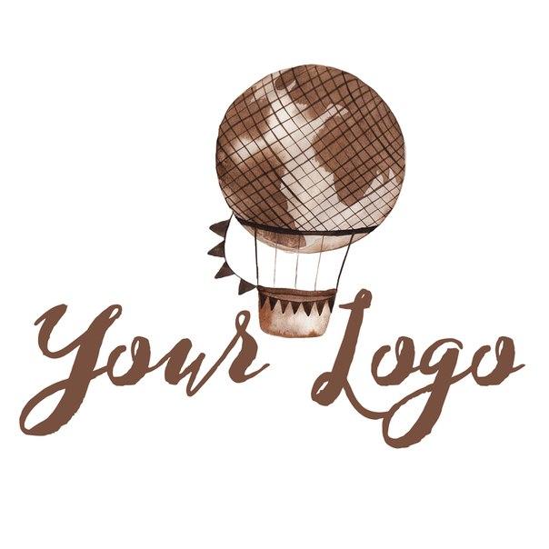 Логотип воздушный шар