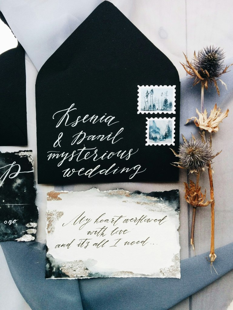 Полиграфия Mysterious Wedding